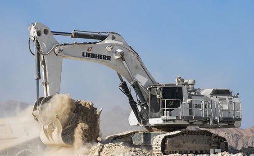 利勃海尔矿用挖掘机r 9100 b,r 9150 b:新升级进一步降低成本